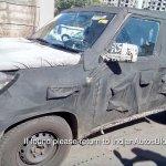 Mahindra U301 spied testing in Chennai October 2014