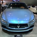 Maserati Ghibli Ermenegildo Zegna Edition front at the 2014 Paris Motor Show