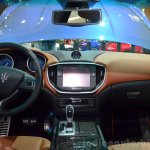 Maserati Ghibli Ermenegildo Zegna Edition interior at the 2014 Paris Motor Show