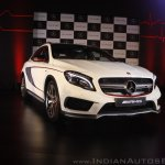 Mercedes-Benz GLA 45 AMG front quarter Launch