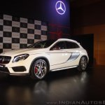Mercedes-Benz GLA 45 AMG front quarters Launch
