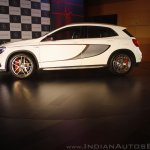 Mercedes-Benz GLA 45 AMG side angle Launch