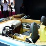 Mini Superleggera Vision Concept dashboard at the 2014 Paris Motor Show