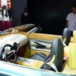 Mini Superleggera Vision Concept interior at the 2014 Paris Motor Show