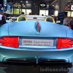 Mini Superleggera Vision Concept rear at the 2014 Paris Motor Show