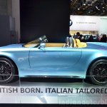 Mini Superleggera Vision Concept side at the 2014 Paris Motor Show