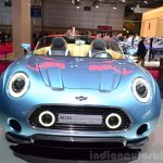 Mini Superleggera Vision front Concept at the 2014 Paris Motor Show