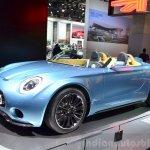 Mini Superleggera Vision front three quarter Concept at the 2014 Paris Motor Show
