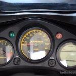 New Hero Karizma R instrument console at the 2014 Colombo Motor Show Sri Lanka