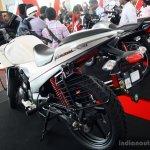 New Hero Karizma R rear three quarter at the 2014 Colombo Motor Show Sri Lanka