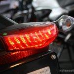 New Hero Karizma R taillights at the 2014 Colombo Motor Show Sri Lanka