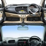 New Maruti Alto K10 vs older model interior