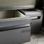 New Volvo FH underseat storage