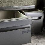 New Volvo FH underseat storage