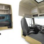 New Volvo FM cabin