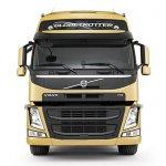 New Volvo FM front fascia