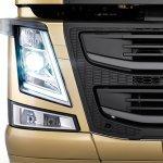 New Volvo FM headlights