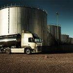 New Volvo FM tanker