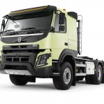 New Volvo FMX front three quarter