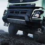 New Volvo FMX high ground clearance