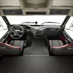 New Volvo FMX interior