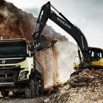 New Volvo FMX loading