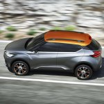 Nissan Kicks Concept top Press shot