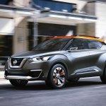 Nissan Kicks Concept front quarter Press shot