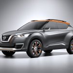 Nissan Kicks Concept front quarters Press shot