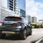Nissan Kicks Concept rear quarter Press shot