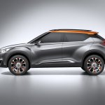 Nissan Kicks Concept side Press shot