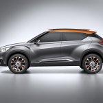 Nissan Kicks Concept side Press shot