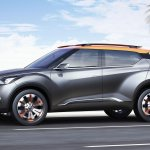 Nissan Kicks Concept side press image