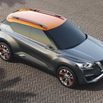 Nissan Kicks Concept top Press shot