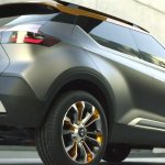 Nissan Kicks concept rear three quarters right