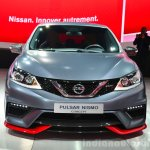 Nissan Pulsar NISMO Concept front at the 2014 Paris Motor Show