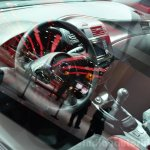 Nissan Pulsar NISMO Concept interior at the 2014 Paris Motor Show