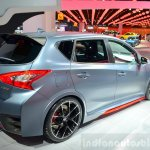 Nissan Pulsar NISMO Concept rear three quarter at the 2014 Paris Motor Show