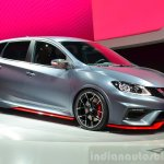 Nissan Pulsar NISMO front three quarter Concept at the 2014 Paris Motor Show
