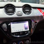 Opel Adam S centre console at the 2014 Paris Motor Show