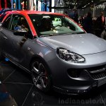 Opel Adam S front three quarter at the 2014 Paris Motor Show