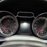 Opel Adam S instrument console at the 2014 Paris Motor Show