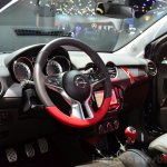 Opel Adam S interior at the 2014 Paris Motor Show