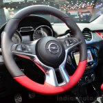 Opel Adam S steering wheel at the 2014 Paris Motor Show