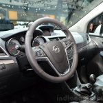 Opel Mokka 1.6 CTDI dashboard at the 2014 Paris Motor Show