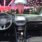 Peugeot 2008 Crossway dashboard at the 2014 Paris Motor Show