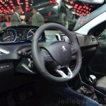 Peugeot 2008 Crossway interior at the 2014 Paris Motor Show