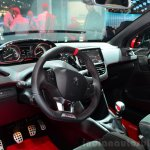 Peugeot 208 GTi 30th Anniversary Edition dashboard at the 2014 Paris Motor Show