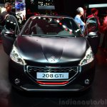 Peugeot 208 GTi 30th Anniversary Edition front at the 2014 Paris Motor Show