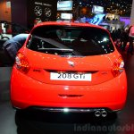 Peugeot 208 GTi 30th Anniversary Edition rear at the 2014 Paris Motor Show